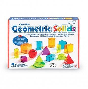 Обучающий игровой набор Learning Resources 3-D геометрия