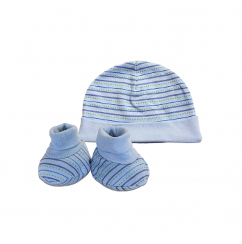 Шапочка для новорожденного Danaya ЛМ-24 Голубой