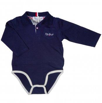 Боди-поло для мальчика Little Marcel синий