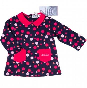 Платье для девочки Little Marcel в горошек