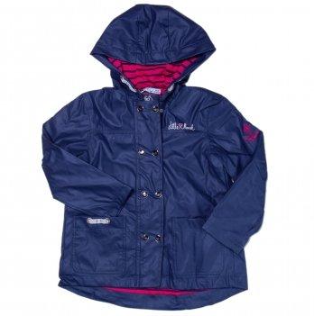 Куртка-дождевик для девочки Little Marcel синяя