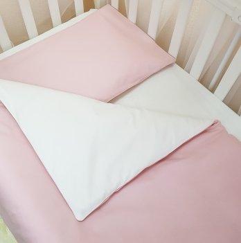 Комплект постельный Маленькая соня 0300245, сменный, универсальный, пудровый