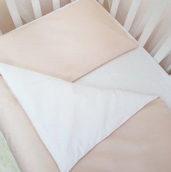 Комплект постельный Маленькая соня 030002, сменный, универсальный, бежевый