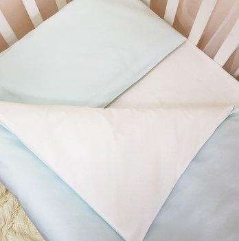 Комплект постельный Маленькая соня 030047, сменный, универсальный, мятный
