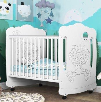 Детская кроватка СидиМ Львенок Baby Cot Lvenok