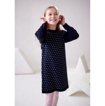 Платье Lutik ПЛ-1401 синий