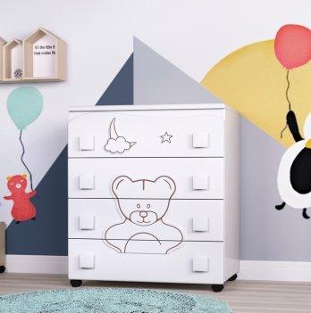 Комод в детскую комнату СидиМ Мишутка Dresser Bear