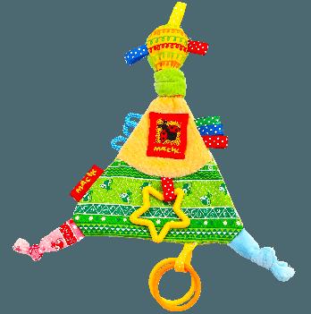 Забавка Масiк Треугольник с кольцами МС 030602-01