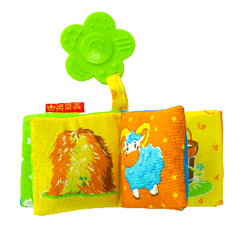 Мягкая книжка-прорезыватель Macik