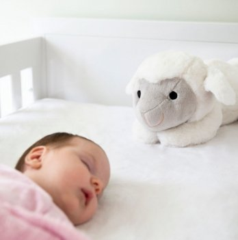 Мягкая игрушка Zazu LIZ успокаивает новорожденного, имитируя сердцебиение мамы