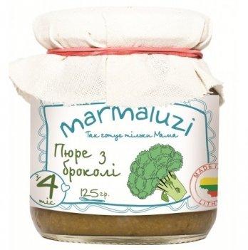 Пюре овощное Marmaluzi из брокколи 125 г