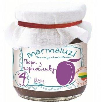 Пюре фруктовое Marmaluzi из чернослива 125 г
