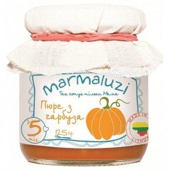 Пюре овощное Marmaluzi из тыквы 125 г