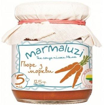 Пюре овощное Marmaluzi из моркови 125 г