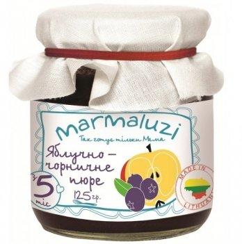 Пюре фруктовое Marmaluzi яблочно-черничное 125 г