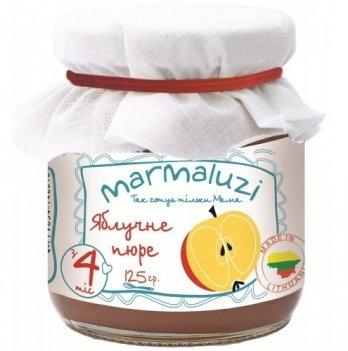 Пюре фруктовое Marmaluzi из яблока 125 г
