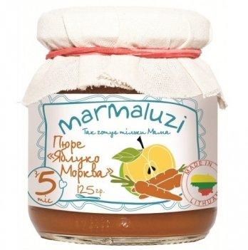 Пюре Marmaluzi из яблока и моркови 125 г