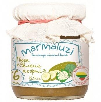 Пюре овощное Marmaluzi