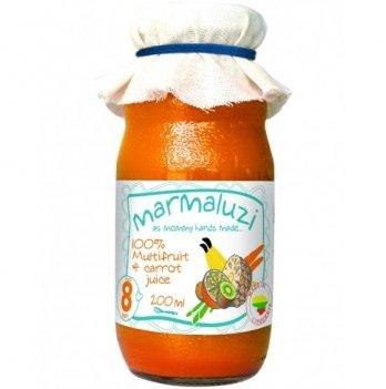 Сок Marmaluzi мультифруктовый с морковью 200 мл
