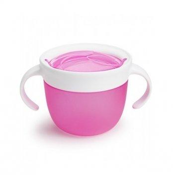 Контейнер для печенья Munchkin Click Lock, розовый