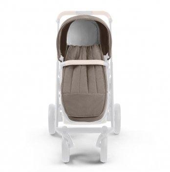 Спальный мешок в коляску Neonato Puro коричневый