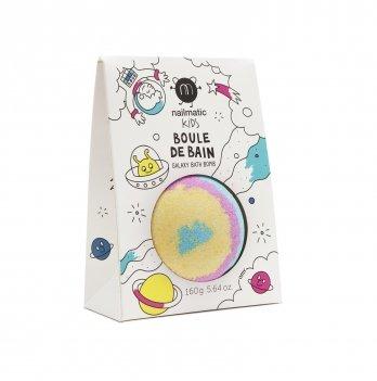 Детская бомбочки для ванной Nailmatic Kids, цвет: голубо-розово-желтый