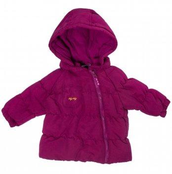 Куртка демисезонная для девочки Naf Naf вишневая