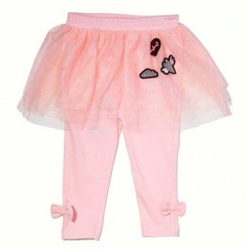 Юбка-лосины для девочки 2в1 Naf Naf розовая