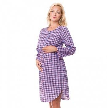 Ночная сорочка для беременных и кормящих мам DISSANNA 1239