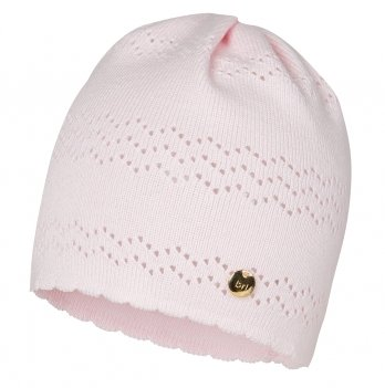 Шапка Broel от 3 до 12 месяцев светло-розовая