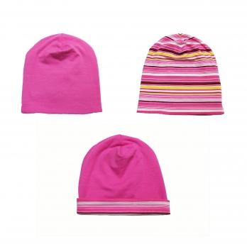 Шапка детская для девочки Danaya 6-24 месяца Розовый 135F/17