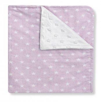 Полотенце-уголок Interbaby Star, розовое