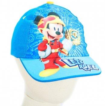 Кепка Arditex, Микки и веселые гонки (Mickey Roadster Racers) голубая