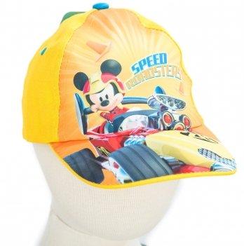Кепка Arditex, Микки и веселые гонки (Mickey Roadster Racers) желтая