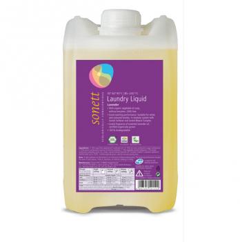 Органическое жидкое средство для стирки с эфирным маслом лаванды, 10л, Sonett