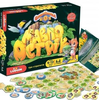 Настольная игра-стратегия для спасателей Ludum Остров обезьян