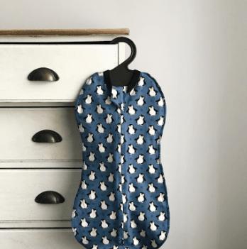 Кокон-пеленка Ripka Penguin blue