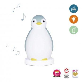 Светильник-ночничок Пингвиненок Zazu ZA-ZOE-02 синий