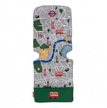Матрас универсальный для коляски Maclaren London City Map, мультиколор
