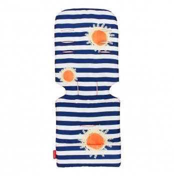 Матрасик в коляску Maclaren Sunshine Stripe Сине-белый Универсальный