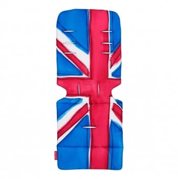 Матрас универсальный для коляски Maclaren Union Jack Princess Blue, синий