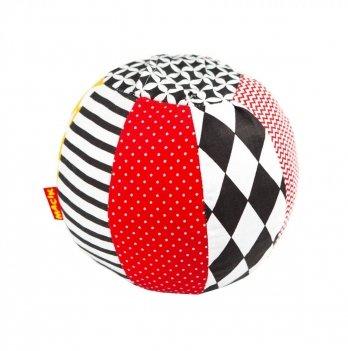 Мячик-погремушка Macik Black&White