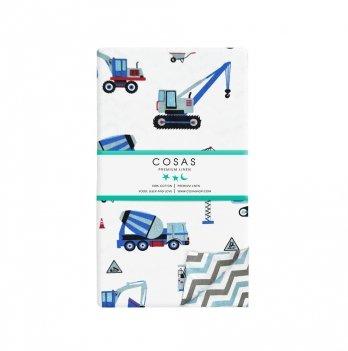 Детский пододеяльник Cosas Building Blue 110х140 см