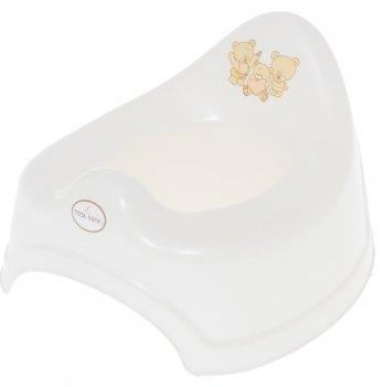 Музыкальный горшок Tega baby Мишки Белый PO-038-118