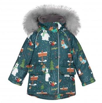 Куртка зимняя детская ДоРечі Темно-зеленый 1954