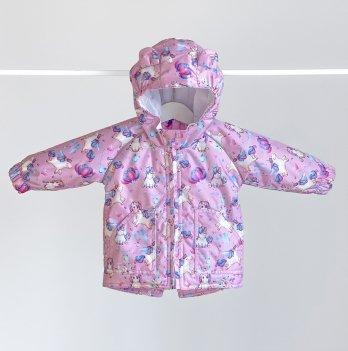 Демисезонная куртка на девочку ДоРечi 1-3 года Единороги 1963