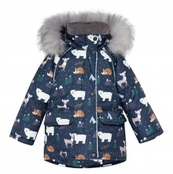 Куртка зимняя детская ДоРечі Синий 1955