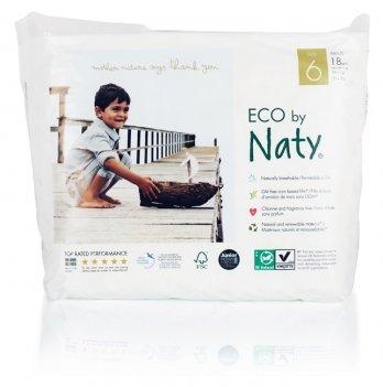 Эко подгузники-трусики Naty, Pull on Pants6 XL, 16+ кг, 6ML, 18 шт.