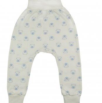 Ползунки Baby Bear blue Veres футер