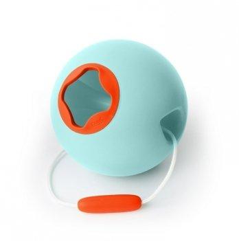 Сферическое ведро Quut BALLO, цвет оранжевый + голубой